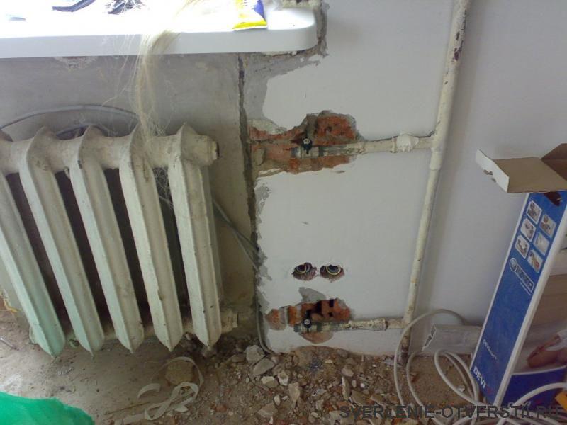 Демонтаж старых труб на новые отопления