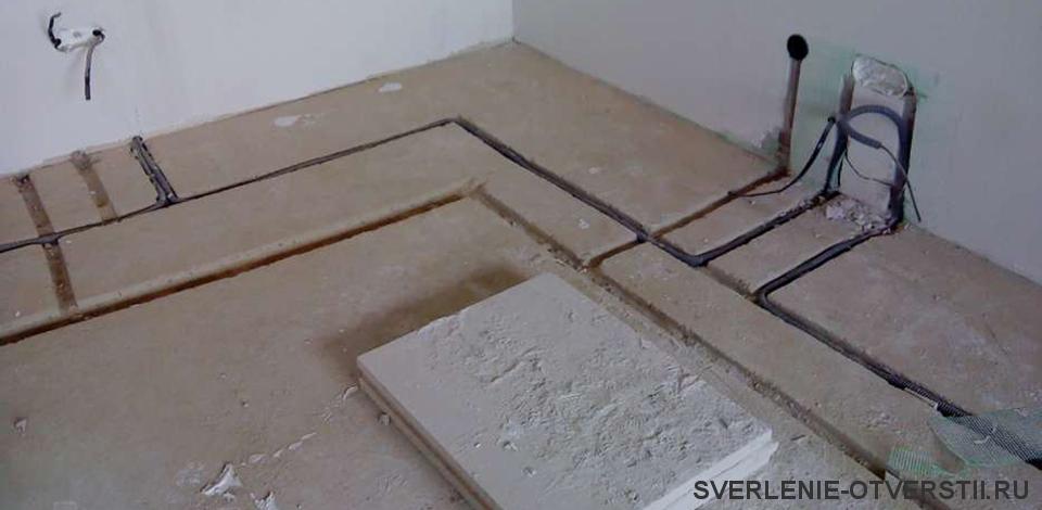 Стоимость штробы в бетоне в москве 555 бетон